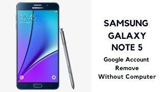 samsung galaxy note 5 frp bypass without pc - Thủ thuật máy tính