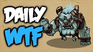 Dota 2 Daily WTF - No Charge allowed