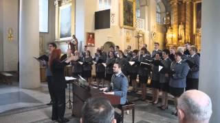 preview picture of video 'Występ Chóru Komendy Wojewódzkiej Policji w Białymstoku (Zabłudów - 12.10.2014)'