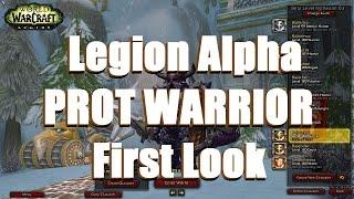 Bajheera Prot Warrior Legion First Look Artifact Quests