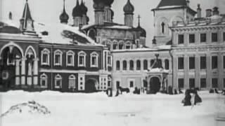 """Зима в Кремле"""" Москва, 1908 год. Еще живой Чудов Монастырь"""