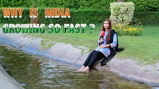 Why Is India Growing So Fast ?   Pakistan's Public Opinion   Sana Amjad