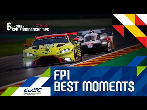 2020 WEC スパ・フランコルシャン6時間耐久レース フリープラクティス1のハイライト動画