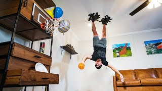 Unpredictable Trick Shots | Dude Perfect