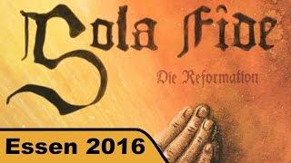 Sola Fide - Brettspiel - Essen 2016 live