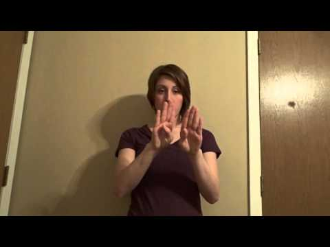 A Basic Course in ASL Vocab Lesson 9 - YouTube