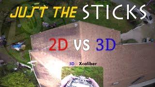 2D vs 3D - Just the Sticks [Extended Cut]
