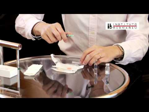 Instrucciones fostipur: preparación y administración de la medicación. Instituto Bernabeu
