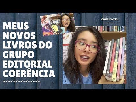 MEUS LIVROS NOVOS DO GRUPO EDITORIAL COERÊNCIA | Kemiroxtv