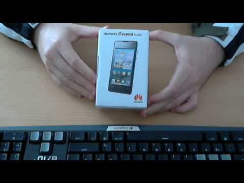 Otpakiranje Huawei Ascend Y300