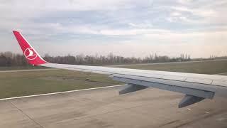 Türk Hava Yolları Kalkış Anı