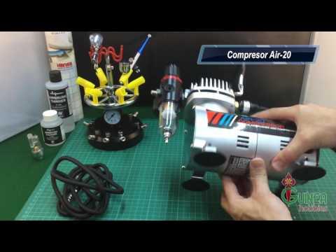Compresor Aerografía Air 20 - www.hobbiesguinea.es