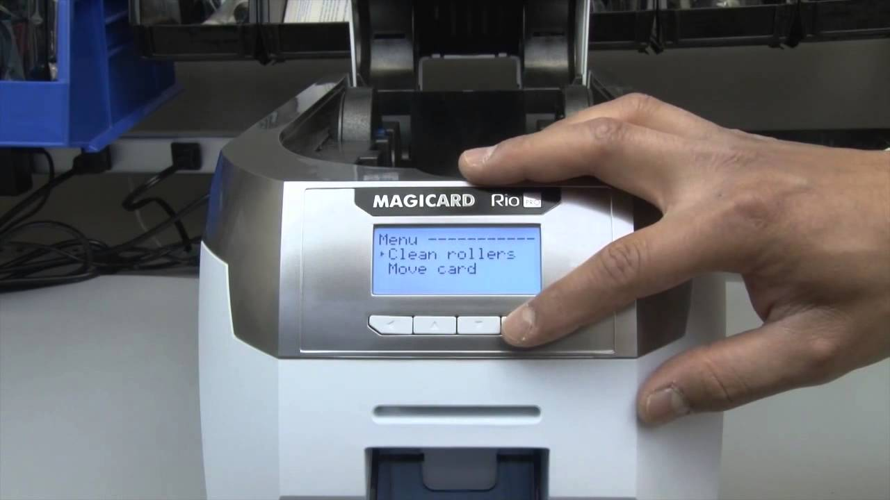 Magicard Rio Pro - How to Clean Your Printer