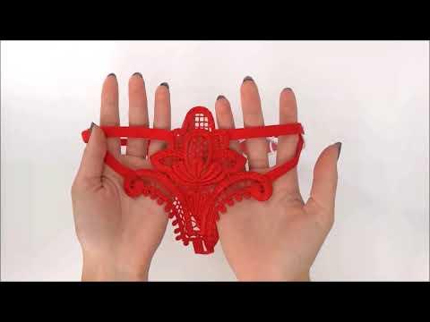 Tanga Luiza thong red - Obsessive