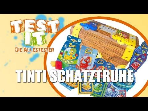 Test it - Folge #1 -  Tinti Schatztruhe Unboxing