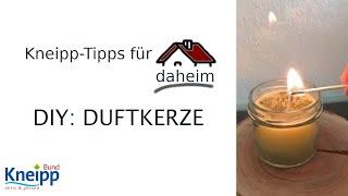 Video DIY: Duftkerze - Kneipp-Tipps für daheim Teil 20 abspielen