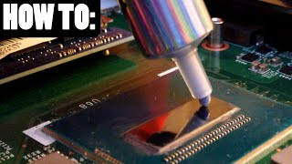 BEST METHOD to Replace your Laptop's Thermal Paste!