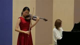 Jialin Ding - Violin Repertoire for the 20th International Music Competition Salzburg