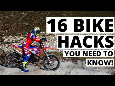 16 astuces préparation moto par Brad Freeman
