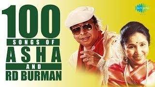 Top 100 Songs of Asha B & R.D.Burman | Chura Liya Hai Tumne | Piya Tu Ab To Aaja | Do Lafzon Ki Hai