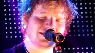 Ed Sheeran- The Parting Glass (hidden track off of Give Me Love)/ The A Team 1/26 HD