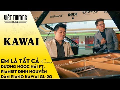 Em Là Tất Cả (Cover) Dương Ngọc Hải ft. Pianist Đinh Nguyễn - Đàn Piano Kawai GL-20