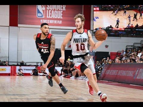 Full Highlights: Chicago Bulls vs Portland Trail Blazers, MGM Resorts NBA Summer League | July 12
