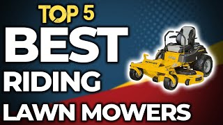 👌 TOP 5: Best Riding Lawn mowers of 2020