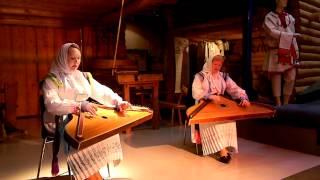 Горномарийская песня под гусли