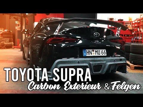 LEVELLA SUPRA PART 4 - Carbon Exterieur + Felgen