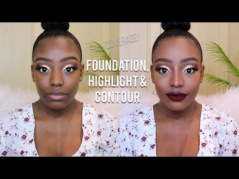 FOUNDATION, HIGHLIGHT AND CONTOUR ROUTINE (UPDATED)