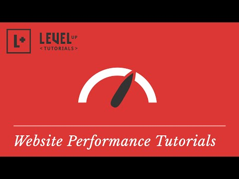 Website Performance Tutorials