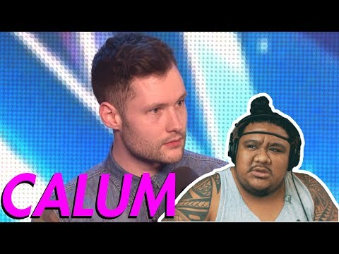 Calum Scott - Dancing On My Own (BGT) [MUSIC REACTION] (видео)