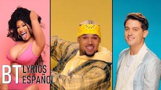Chris Brown   Wobble Up Ft. Nicki Minaj G Eazy (Lyrics + Español) Video Official