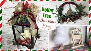DOLLAR TREE DIY CHRISTMAS DECOR | Easy Holiday Diys | Momma from scratch