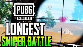 Longest Sniper Battle - Importance of Good Positioning | PUBG MOBILE