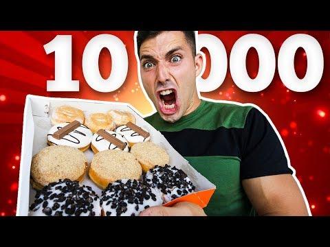 Reto de 10 000 calorías - Comida basura