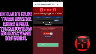 Cara Mudah Mendownload Music MP3 Di STAFABAND Di AndroidPC