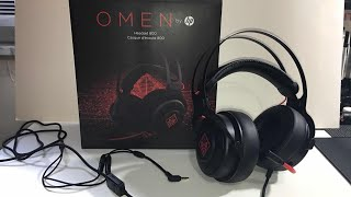 HP Omen Gaming Headset 800 Unboxing & Overview [4K]