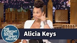 Alicia Keys Had to Call Prince to Cover