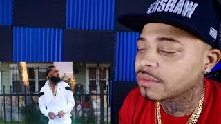 "Nipsey Hussle X DJ Khaled ""Higher"" REACTION"