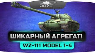 ШИКАРНЫЙ АГРЕГАТ! (Обзор WZ-111 model 1-4)
