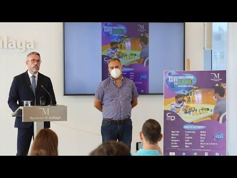 Presentación del XXVII Circuito Provincial de Ajedrez Diputación de Málaga 2021