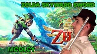 Medley Skyward Sword au piano et à la flûte traversière
