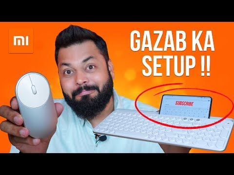 You Don't Need Anything Else!! Xiaomi Wireless Keyboard, Mouse & More...