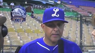 Entrevista a Lino Rivera, Manager del Licey ( por LigaDom)