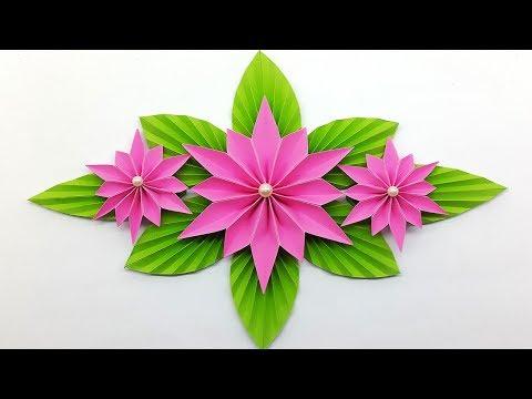 How to make paper flower easy diy flowers making tutorial paper make paper flower for home decor diy paper craft mightylinksfo