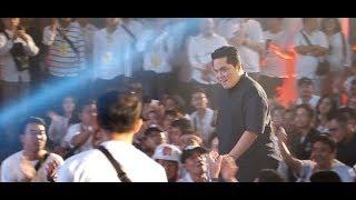 Jokowi   Amin Menang 55%, Insya Allah Kita Bukan Pembohong & Pendusta Ungkap Erick Thohir