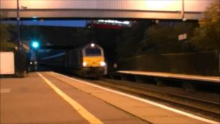 preview picture of video 'Chiltern Railway 67014 'Thomas Telford' at Sudbury Hill Harrow.'