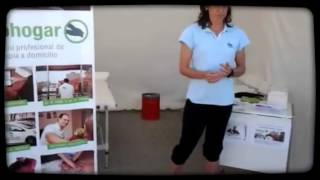 Fisiohogar en el torneo de Sandra Ibarra - Fisiohogar